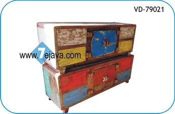 Low cabinet boat wood furniture recycled boat wood for Boat kitchen cabinets