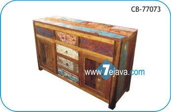Cabinet boat wood furniture recycled boat wood furniture for Boat kitchen cabinets